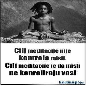 Misli meditacija