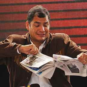 Razgovor s predsjednikom Ekvadora Rafaelom Correom