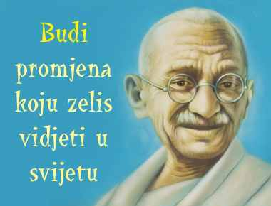 Mahatma ga budi promjena
