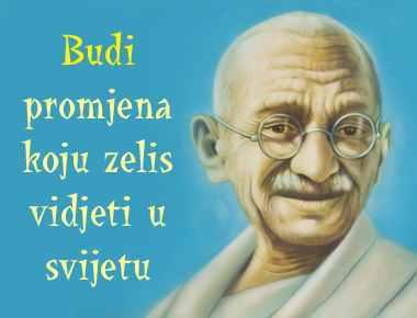 Mahatma ga budi promjena