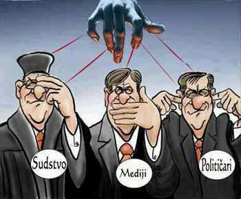 Politicari mediji sudstvo