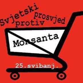 Prosvijed protiv Monsanta 25.5.