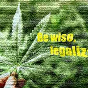 Be wise, legalize