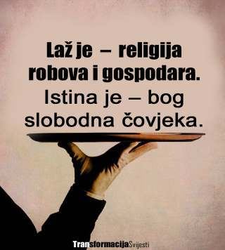 laz istina religija