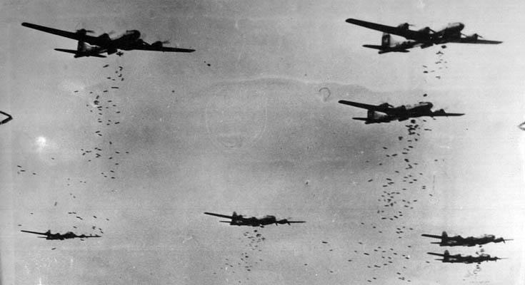 avioni bombardiranje