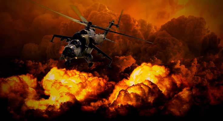 rat i razaranje, smrt