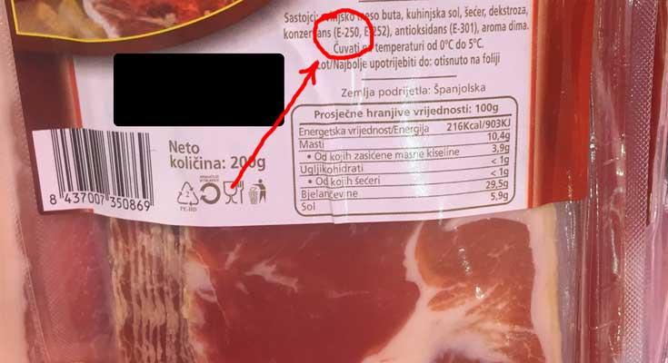 meso natrijev nitrit