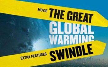 globalno zatopljenje laž