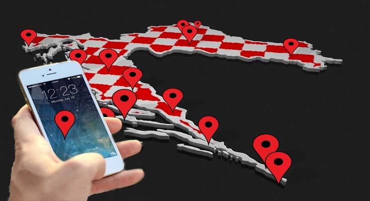 lokacija lociranje mobitel