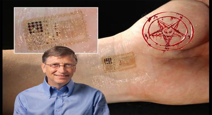 Bill Gates mikročip